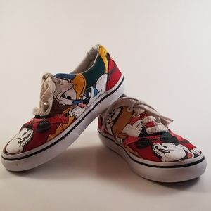 Disney Vans 9 Toddler Shoes Mickey Mouse Friends